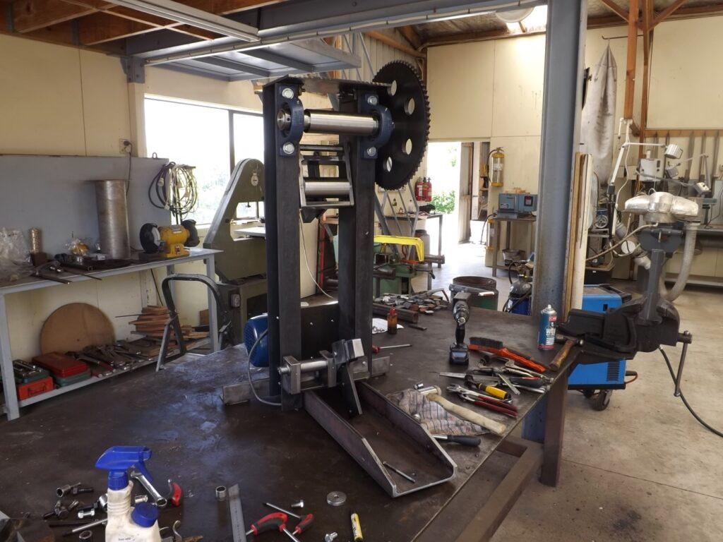 Making a Steel Rolling Mill Part 2   Damascus NZ